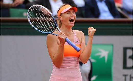 Sharapova remporte l'édition 2014 de Roland Garros !