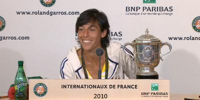 Roland Garros: Schiavone, ''tout est possible !