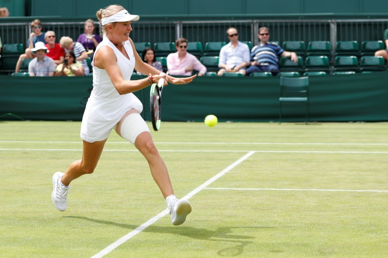 Czech teen at 14 is youngest kid on the block at Wimbledon
