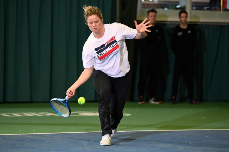 Clijsters affrontera finalement Muguruza pour son retour à Dubaï