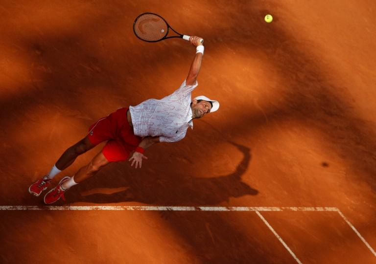 Novak Djokovic en finale à Rome