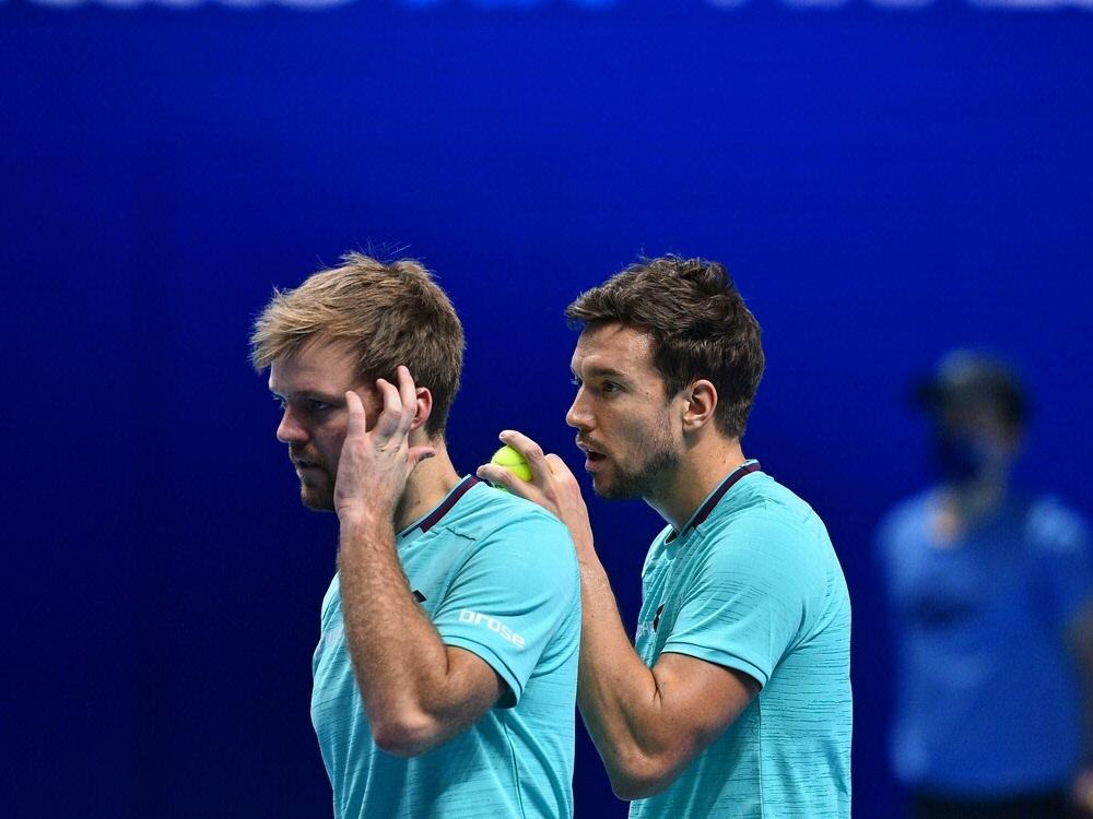 Krawietz/Mies verpassen Halbfinale bei den ATP Finals