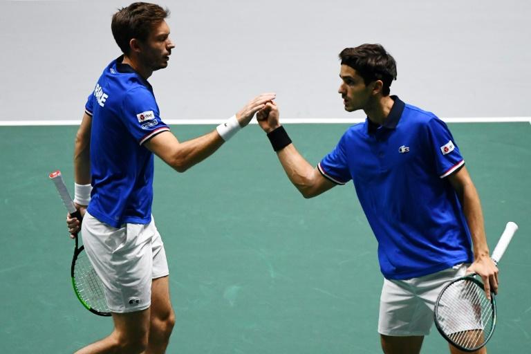 Coupe Davis: la France gagne son premier match dans la nouvelle formule