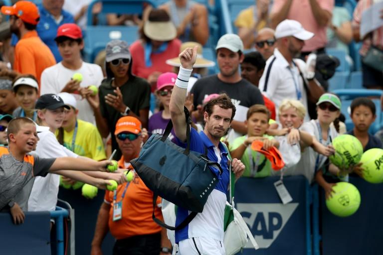 Retour manqué de Murray à Cincinnati, qui renonce à l'US Open en simple