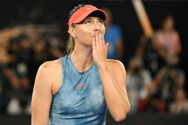 Sharapova ends a career that was stuff of Hollywood