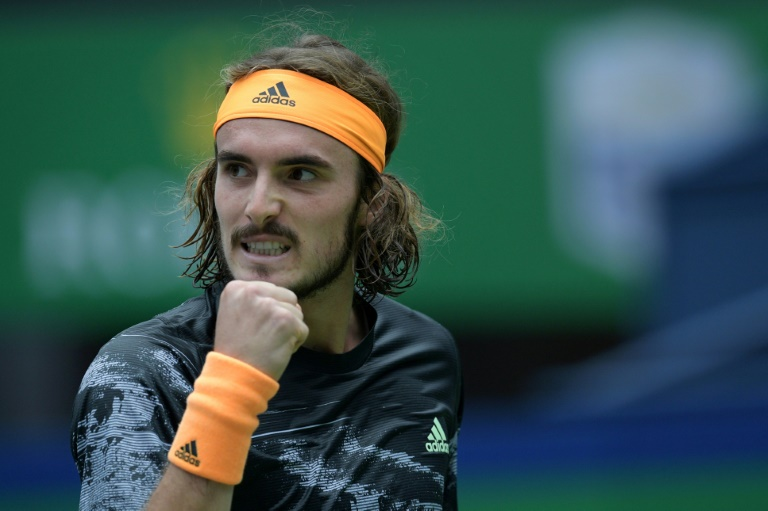 Tsitsipas reins in social media, primed for 'pain, hype'