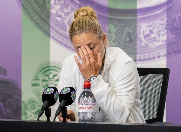 Kerber drops out of Olympics saying she needs a rest