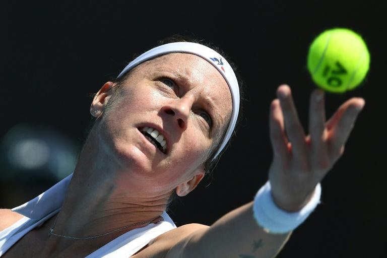 Roland-Garros: Des adieux dans le noir pour Pauline Parmentier