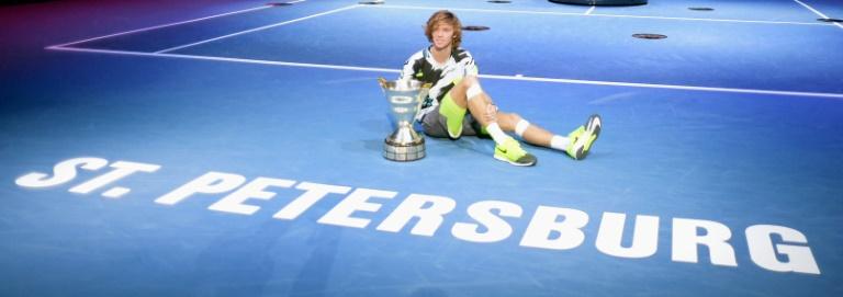 Andrey Rublev ajoute un nouveau titre à une année bien remplie