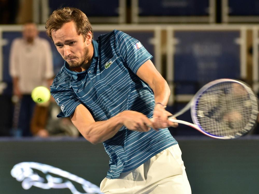 ATP Finals:  Medwedew als vierter Profi qualifiziert