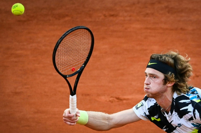 Red-hot Rublev into St Petersburg semis with one eye on London