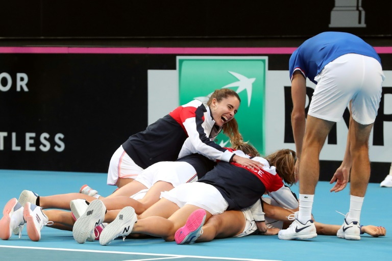 Fed Cup: la France bat l'Australie 3-2 en finale