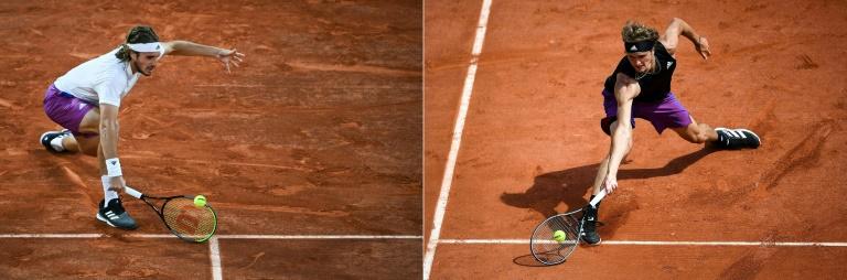 Roland-Garros: demi-finales messieurs, Zverev-Tsitsipas pour commencer