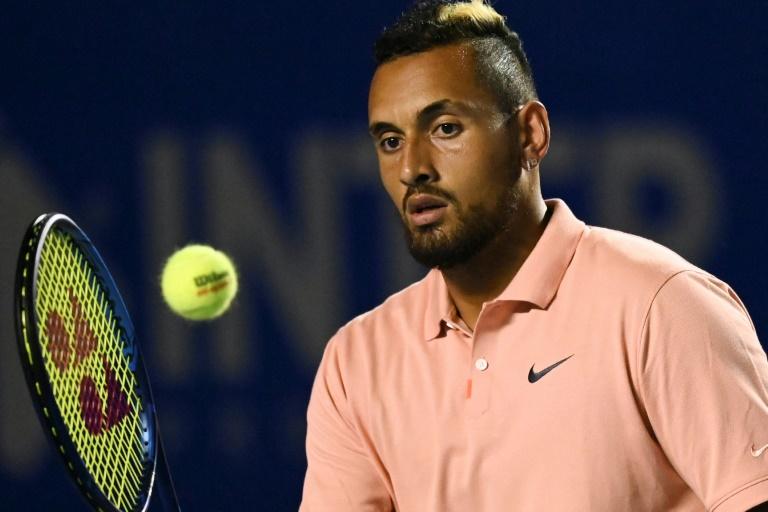 Kyrgios annonce son forfait pour l'US Open à cause du Covid-19
