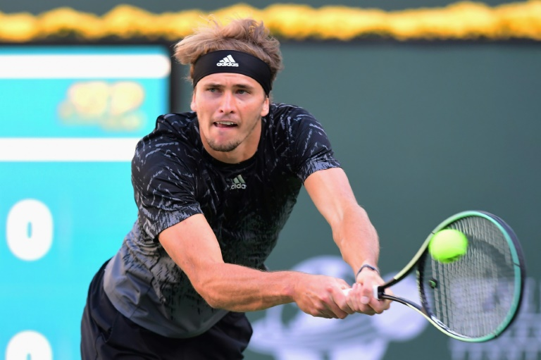 Composed Zverev slips past Murray, women's top seeds fall in Indian Wells
