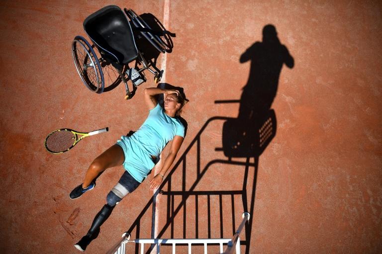 Fauchée mais pas coulée: la revanche de Pauline Déroulède, espoir du tennis fauteuil français