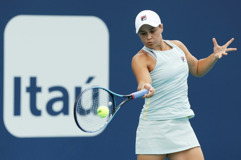 I deserve No.1 ranking says Barty after Miami win