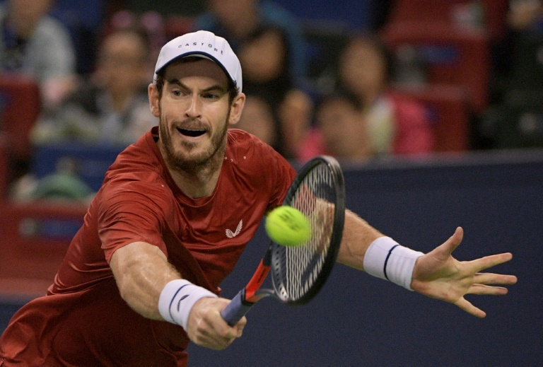 Big-serving Murray upbeat as he plans for return