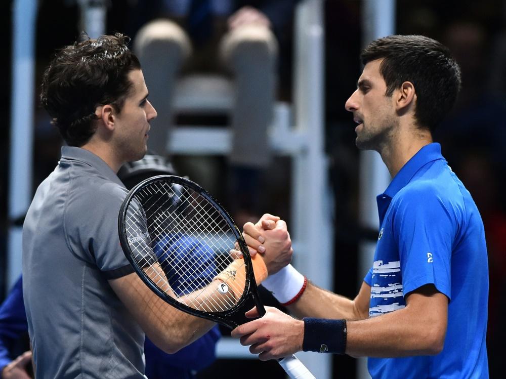 Fair Play im Finale:  Djokovic beeindruckt von Thiem und Zverev