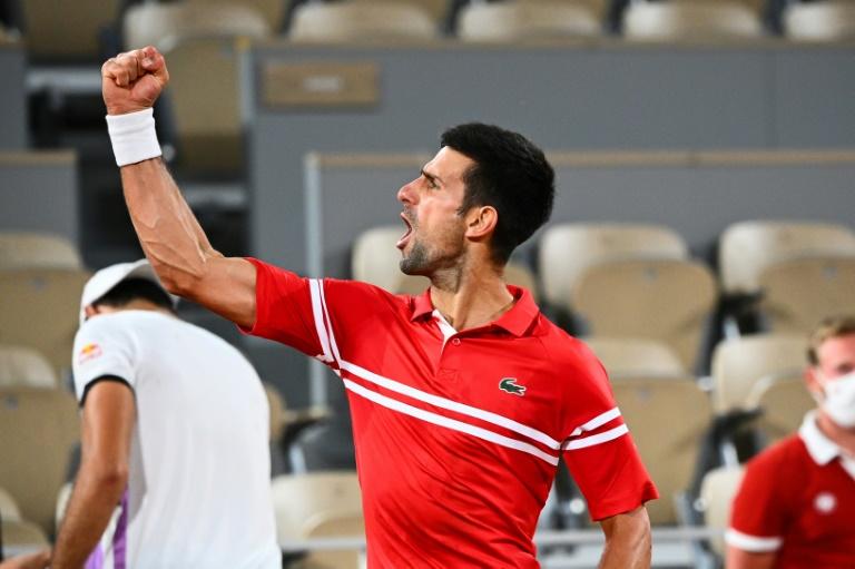 Djokovic rejoint Nadal en demi-finales de Roland-Garros