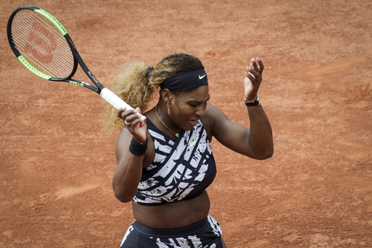 'Being Serena, it's a lot to carry': Williams struggles to 800th victory