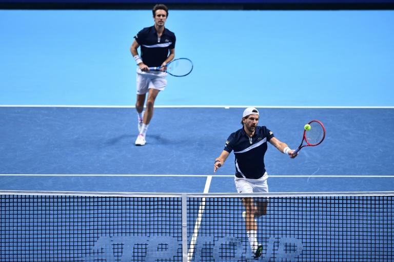 Masters de double: Roger-Vasselin et Melzer battus en finale