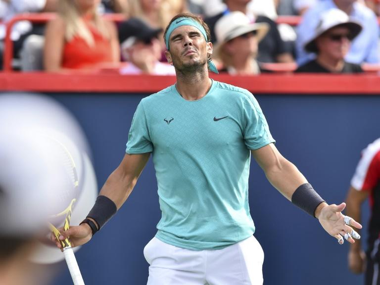 Montreal winner Nadal withdraws from Cincinnati