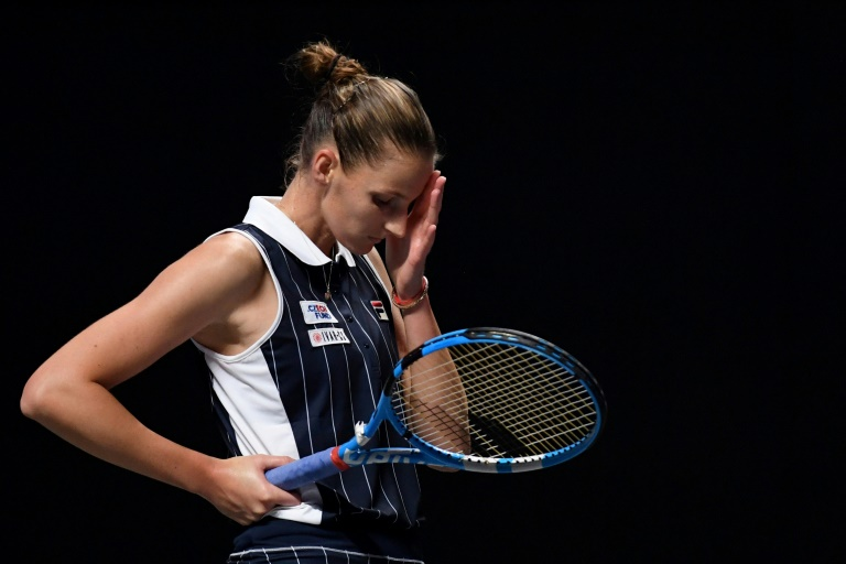 World number two Pliskova parts ways with coach Martinez