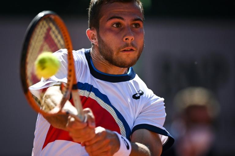 Roland-Garros: pas de nouvelle épopée pour Gaston, stoppé d'entrée par Gasquet