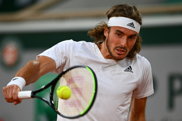 Tsitsipas downs Medvedev as new faces clash in women's French Open semi-finals