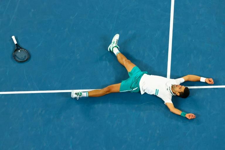 On cloud nine: Djokovic's dominance at Australian Open
