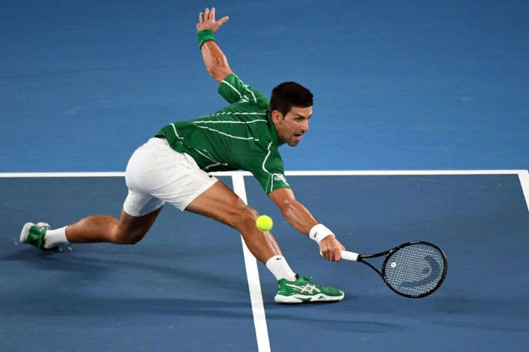 Djokovic survives scare in tough Slam opener
