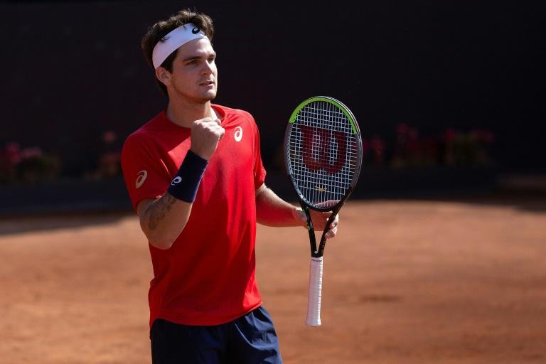 Rising tennis star Seyboth Wild, 20, reveals he has coronavirus