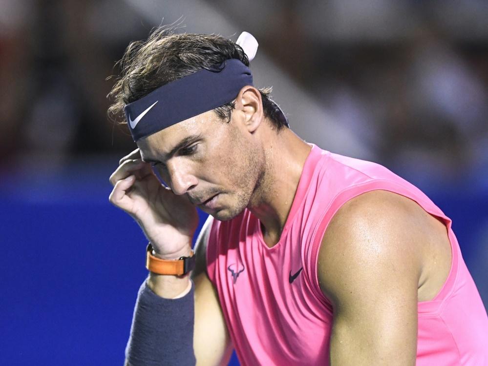 Nach Verzicht auf US Open:  Nadal lässt Start bei French Open offen