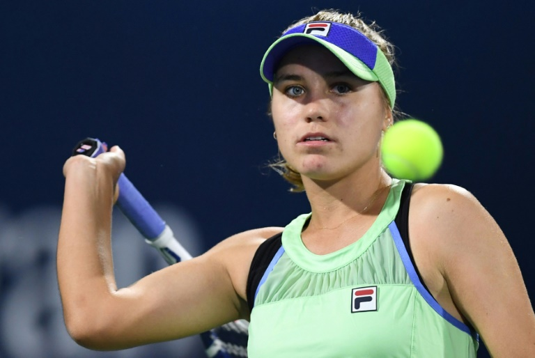 Sofia Kenin chute contre Madison Keys à Charleston