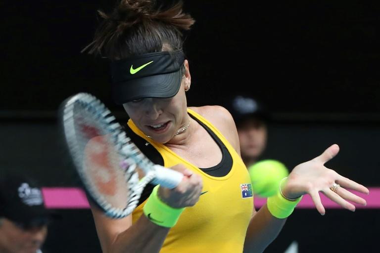 Fed Cup: Parmentier battue par Tomljanovic, l'Australie égalise à 2-2 en finale