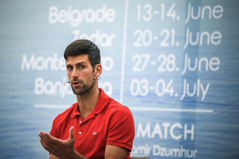 Djokovic ne sait toujours pas s'il participera à l'US Open