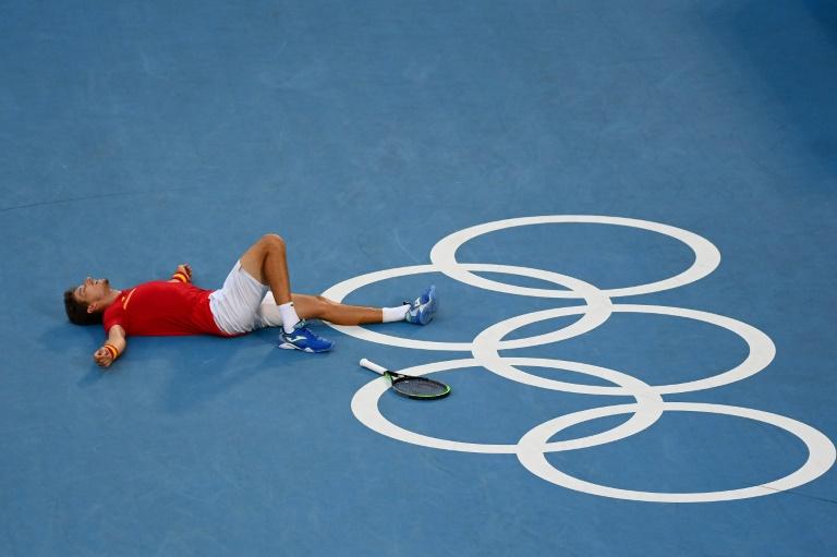 JO-2020/ pas de médaille en simple pour Djokovic, l'Espagnol Carreno en bronze