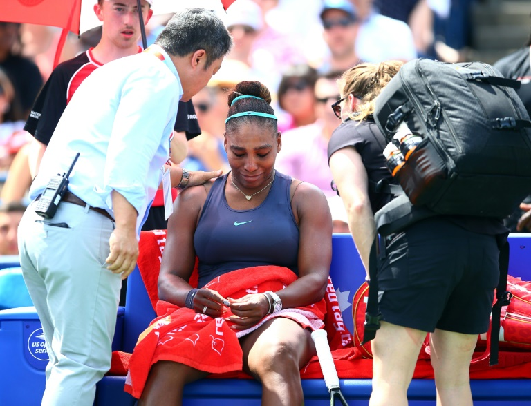 Serena's US Open plans upended as injury hands Andreescu Toronto crown