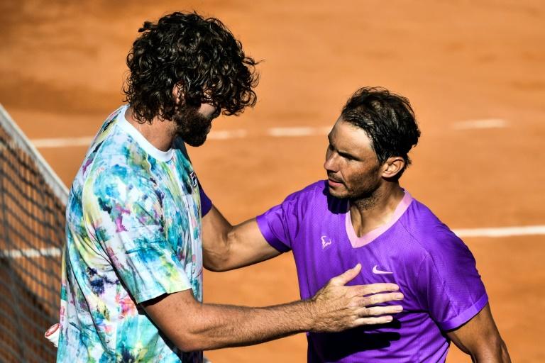 Masters 1000 de Rome: Nadal, premier finaliste en dominant Opelka