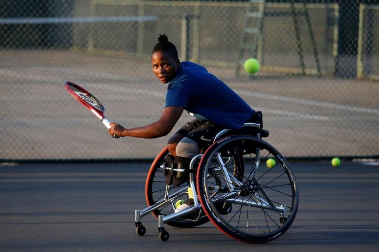 Tennis handisport: Kgothatso Montjane, la star sud-africaine qui déjoue les fatalités