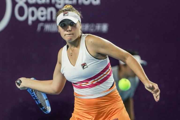 WTA: Kenin croque Stosur à Canton et s'offre un 3e titre