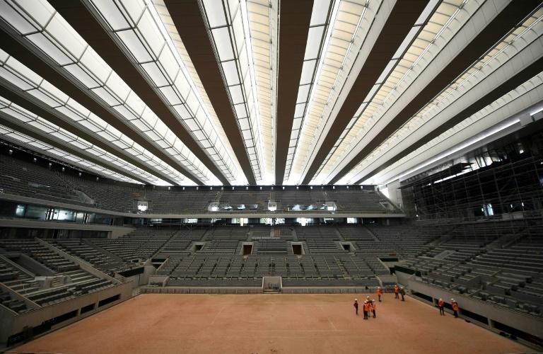 Roland-Garros se prépare pour l'automne