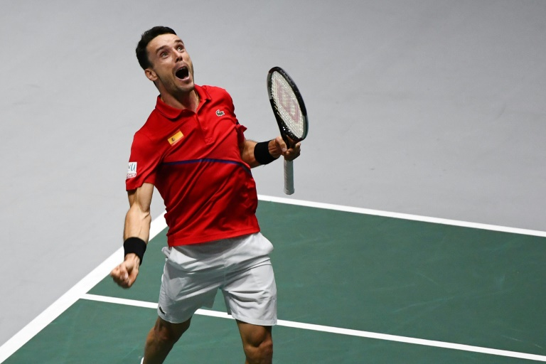 Bautista Agut victory puts Spain on the brink of Davis Cup triumph