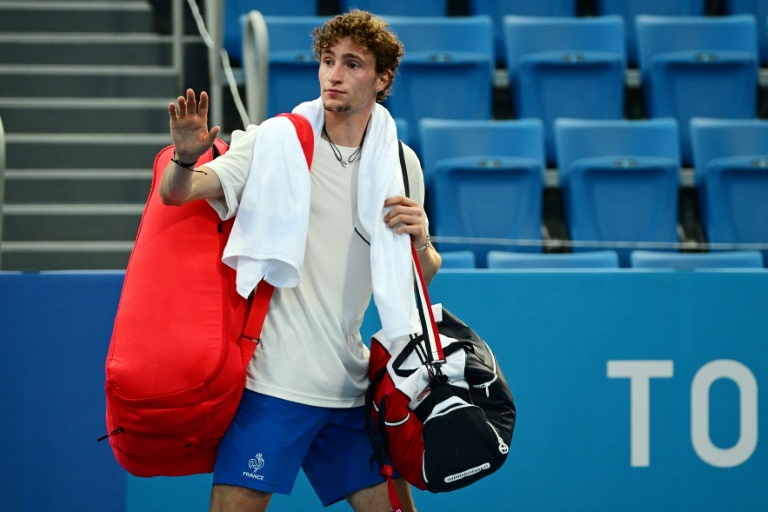 JO-2020: Humbert stoppé en quarts du tournoi de tennis