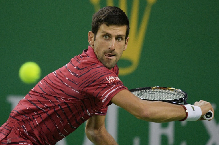 Djokovic continue d'impressionner au Masters 1000 de Shanghai