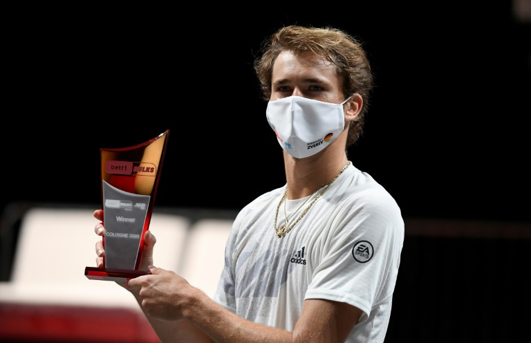 Zverev takes Cologne ATP as Auger-Aliassime loses sixth straight final