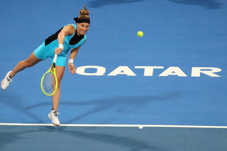 Kuznetsova écarte Bencic et accède aux demi-finales à Doha