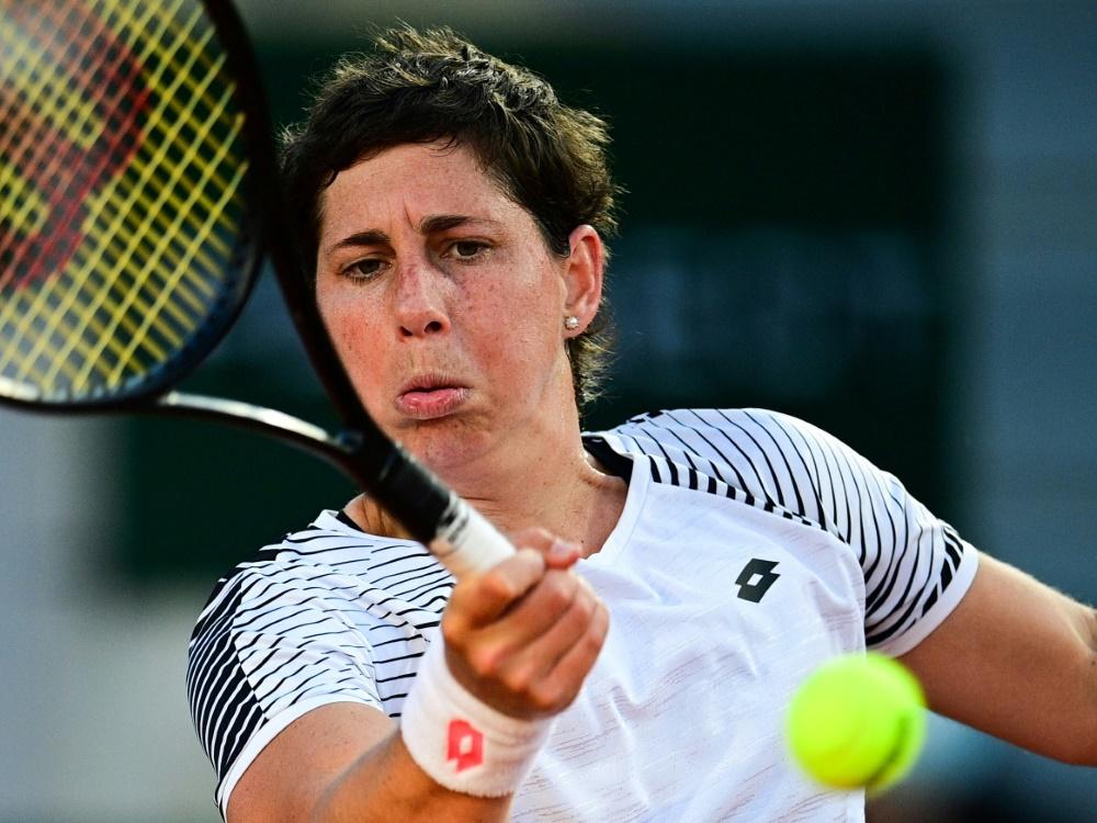 French Open:  Suarez Navarro verliert bei Comeback