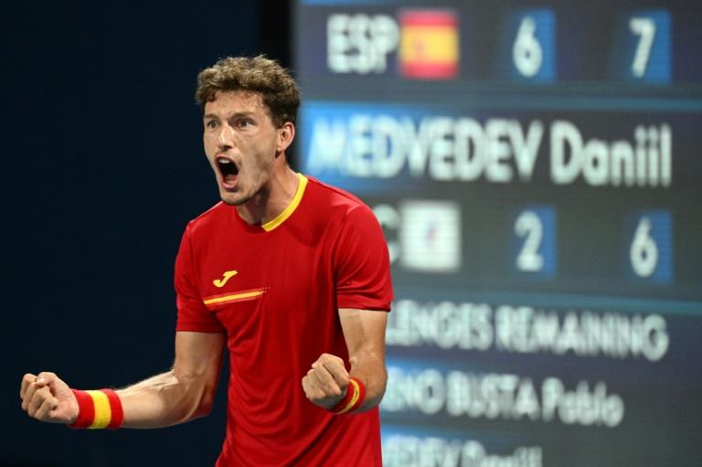 JO-2020: Djokovic a rendez-vous avec Zverev, Carreno élimine Medvedev